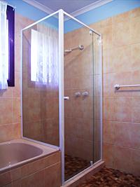 semi frameless shower screen installation instructions